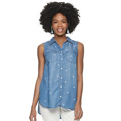 Women's SONOMA Goods for Life™ Button Down Tank