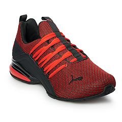 e1515dbf82f PUMA Axelion Men s Cross Training Shoes. Red Black Black
