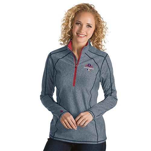 Women's Antigua Boston Red Sox 2018 World Series Champions Tempo Pullover