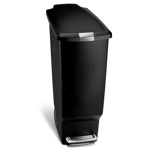 simplehuman 11-Gallon Slim Step Trash Can