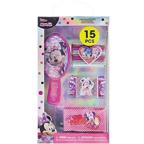 Disney's Minnie Mouse Girls Hair Accessories Set