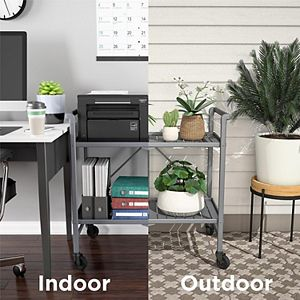 COSCO Intellifit Indoor / Outdoor Folding Serving Cart