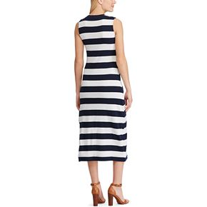 Women's Chaps Striped Midi Dress