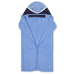 Baby Boy Just Born Shark Hooded Towel