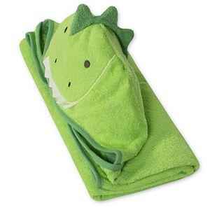 Baby Boy Just Born Dinosaur Hooded Towel