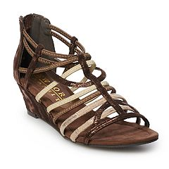 New York Transit Impressed Again Women's Wedge Sandals