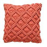 VCNY Dorthea Crotcheted Decorative Throw Pillow