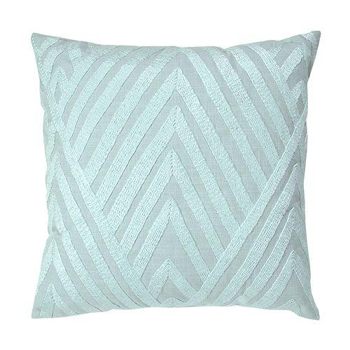 VCNY Ryan Herringbone Decorative Throw Pillow