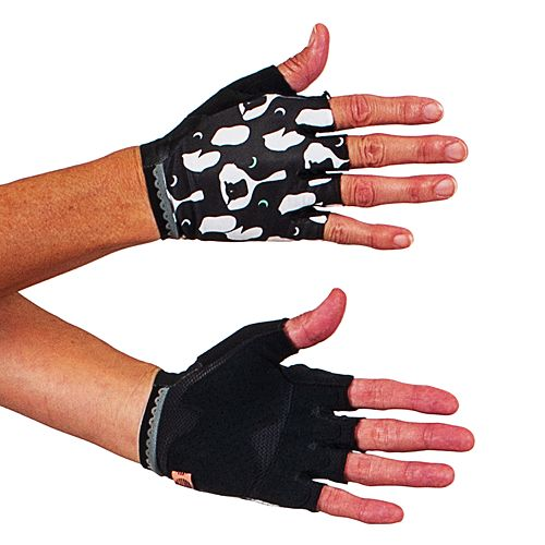 Women's Shebeest Short Cycling Finger Gloves