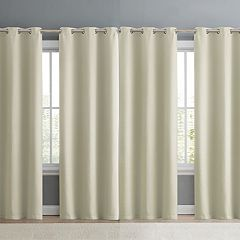 VCNY Jordan 4-piece Weave Blackout Window Curtain Set
