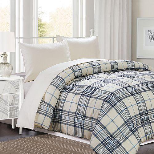 Windsor Hill Matthew Plaid Comforter Set