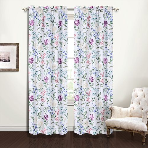 United Curtain Botanical Window Curtain
