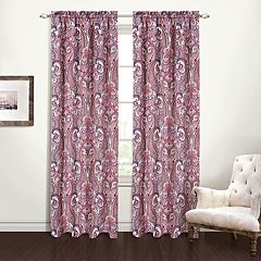 United Curtain Bradley Window Curtain
