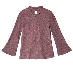 Girls 7-16 IZ Amy Byer Bell Sleeve Top
