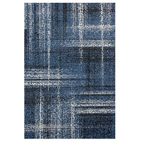United Weavers Serenity Collection Helem Plaid Rug