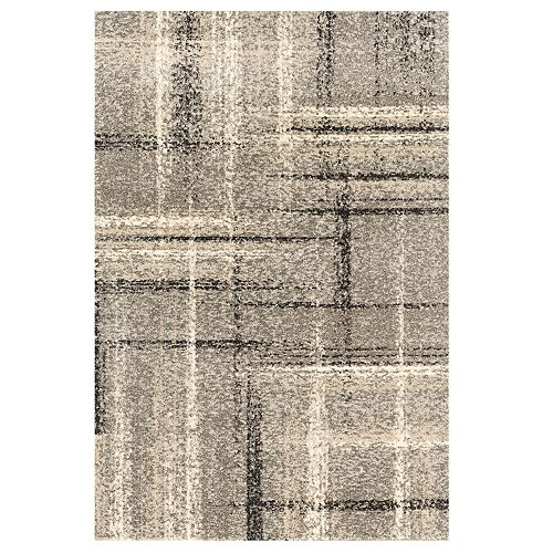 United Weavers Serenity Collection Mirage Plaid Rug