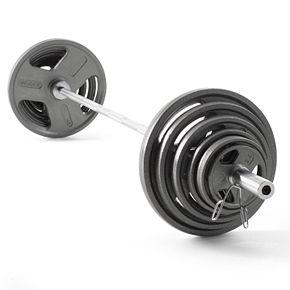 Weider 210 lbs. Olympic Hammertone Weight Set