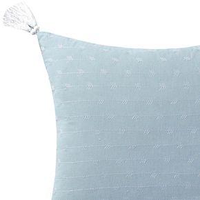 Brooklyn Loom Chambray Loft Throw Pillow