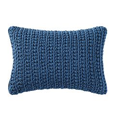 Brooklyn Loom Chambray Loft Throw Pillow