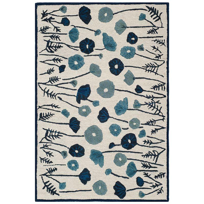 Safavieh Martha Stewart Bella Rug, Blue, 5X8 Ft