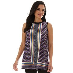 21696a94c11c7 Women's Apt. 9® Allover Print Swing Tank