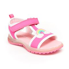 bd00ad13481c Carter s Feline Toddler Girls  Light Up Sandals. Pink Fuchsia