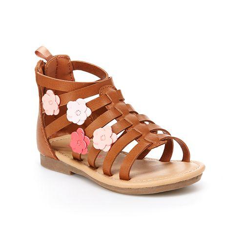 Carter's Flossie Toddler Girls' Gladiator Sandals