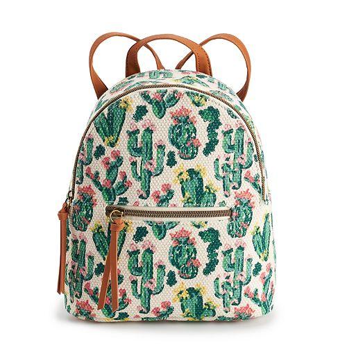 T-Shirt & Jeans Cactus Mini Backpack