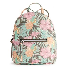 T-Shirt & Jeans Tropical Floral Mini Backpack