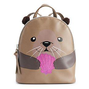 T-Shirt & Jeans River Otter Mini Backpack