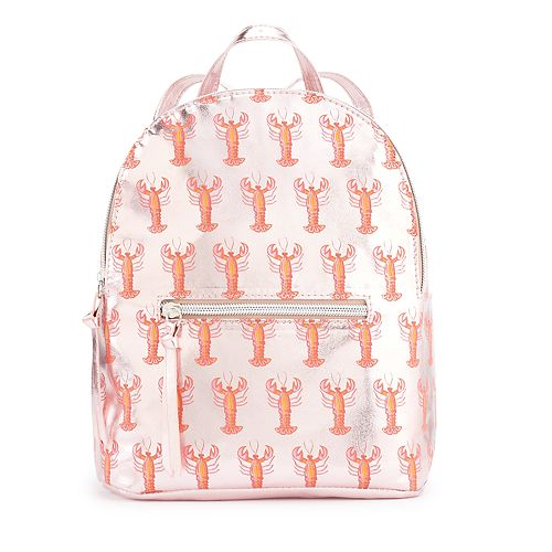 T-Shirt & Jeans Shiny Lobster Mini Backpack