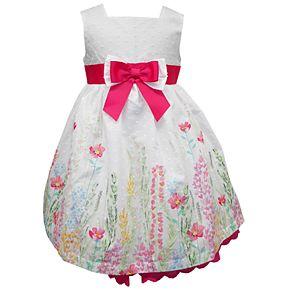 Baby Girl Blueberi Boulevard Clip-Dot Easter Sundress & Cardigan Set
