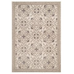 United Weavers Chenille Collection Lattice Geometric rug