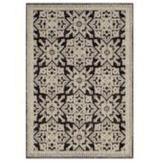 United Weavers Chenille Collection Lattice Geometric rug