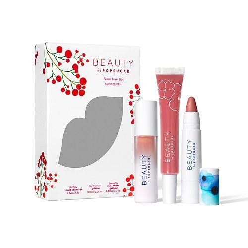 Beauty by POPSUGAR 3-Piece Peace.Love.Lips. Kit
