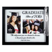 Malden 2-Opening Graduation Shadowbox with Tassel Collage Frame