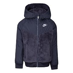 Boys 4-7 Nike Sherpa Windrunner Lightweight Hooded Zip Jacket