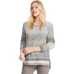 Women's Chaps Marled Crewneck Sweater