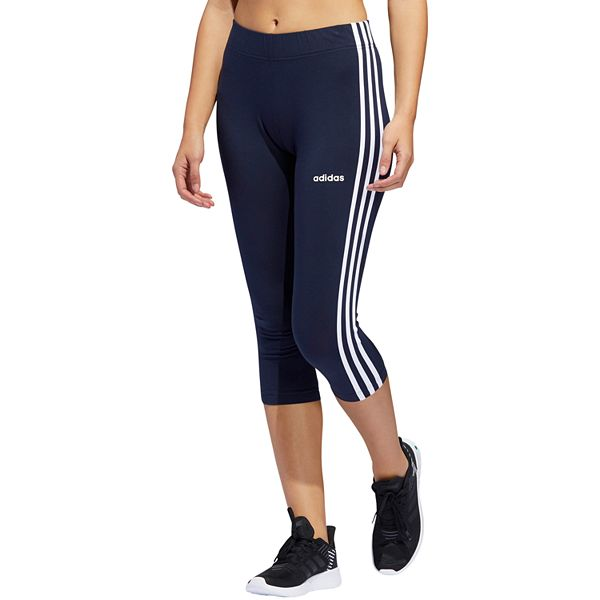 Mar Ascensor Tranvía  Women's adidas 3-Stripe Cropped Capris