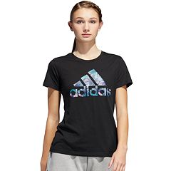 Women's adidas Tropical Badge of Sport Graphic Tee
