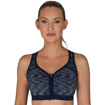 5d5eb8f64 Jockey Sport Verge Zip Front High-Impact Sports Bra