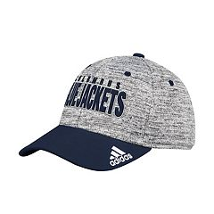 0b172690cf8 Adult adidas Columbus Blue Jackets Delta Flex-Fit Cap