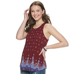 6c8f482696946 Womens Crewneck Tank Tops Tops & Tees - Tops, Clothing | Kohl's