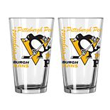 Boelter Pittsburgh Penguins Spirit Pint Glass Set
