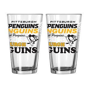 Boelter Pittsburgh Penguins Spirit Pint Glass Set