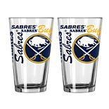 Boelter Buffalo Sabres Spirit Pint Glass Set