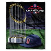 Boston Red Sox 2018 World Series Champions Silk-Touch Throw Blanket