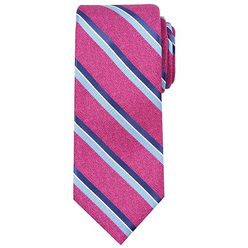 Men's Haggar Striped Heathered Extra-Long Tie