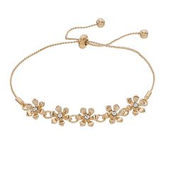 LC Lauren Conrad Floral Adjustable Bracelet