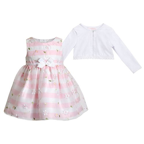 25279bdc0272b Baby Youngland Baby-Girls 2 Piece Coat Set Casual Dress